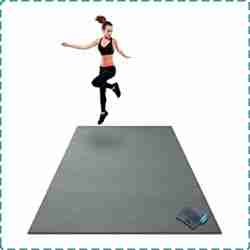Gorilla Rubber Exercise Mats for Home Use