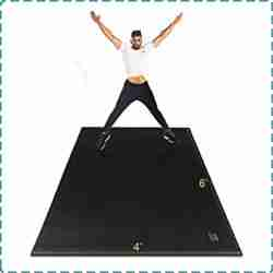 Gxmmat Extra Large Exercise Mat for Home Gym