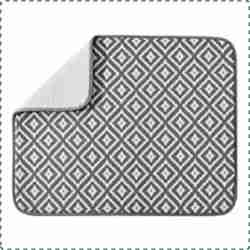 SUBEKYU Water Absorption Mat for Dishes