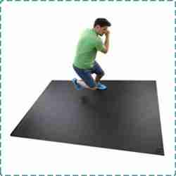 Square36 Non-Slip Workout Mats for Home Gym