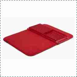 Umbra Udry Dish Drying Mat with Removable Rack