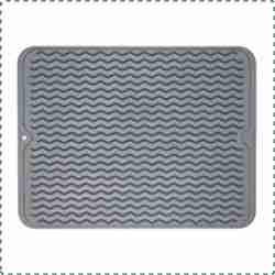 ZLR Silicone Dishwasher Safe Dish Drying Mat