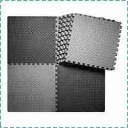 innhom 12/24 Tiles Home Gym Flooring Mat