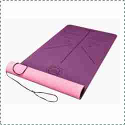 DAWAY Nature Friendly Yoga Mat with Carrying Strap