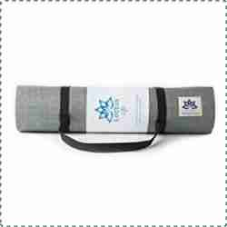 Lottus Life Natural Jute Fiber Yoga Mat with Strap