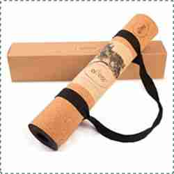 Repose Natural Rubber & Cork Non-Toxic Yoga Mat